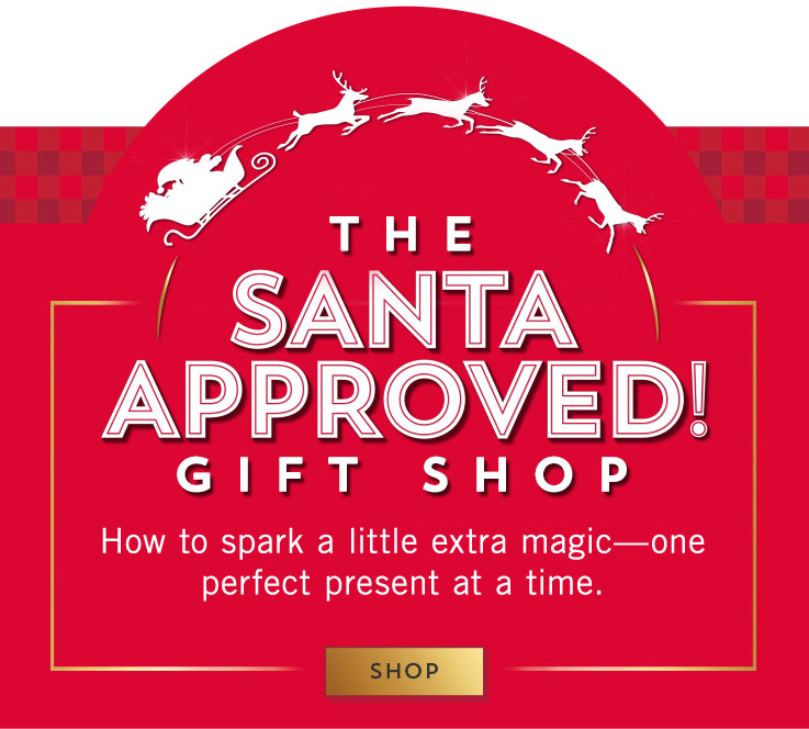 The Santa-approved gift shop: How to sparkl a little extra magic—one perfect present at a time. Shop now.