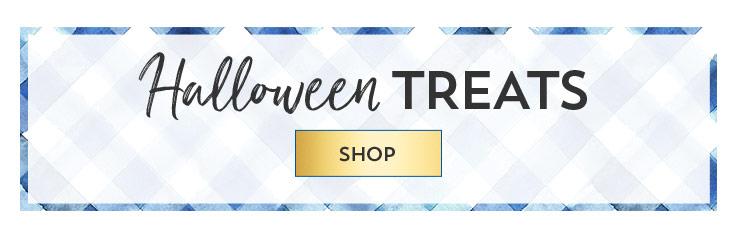 Halloween treats. Shop.
