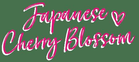 Japanese Cherry Blossom Bath & Body Works