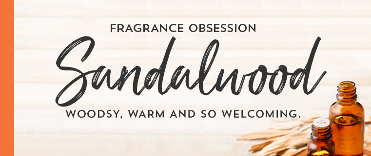 Fragrance obsession. Sandalwood. Woodsy, warm and so welcoming.