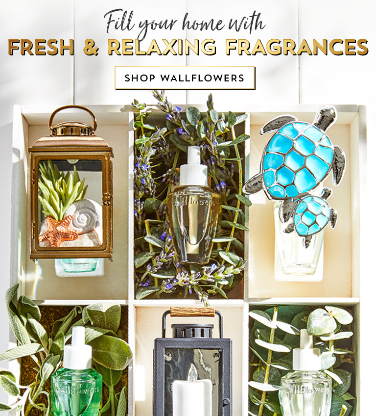 Fill your home with fresh and relaxing fragrances. Shop Wallflowers.