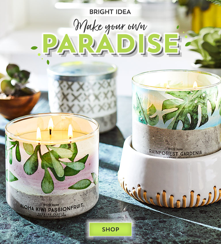 Bright idea: Make your own paradise. Shop now.