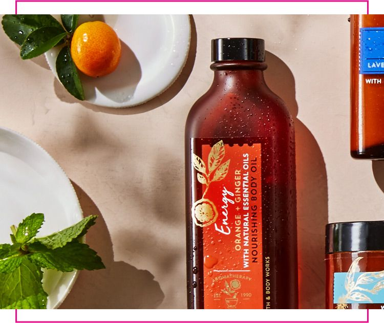 Aromatherapy Body Oil