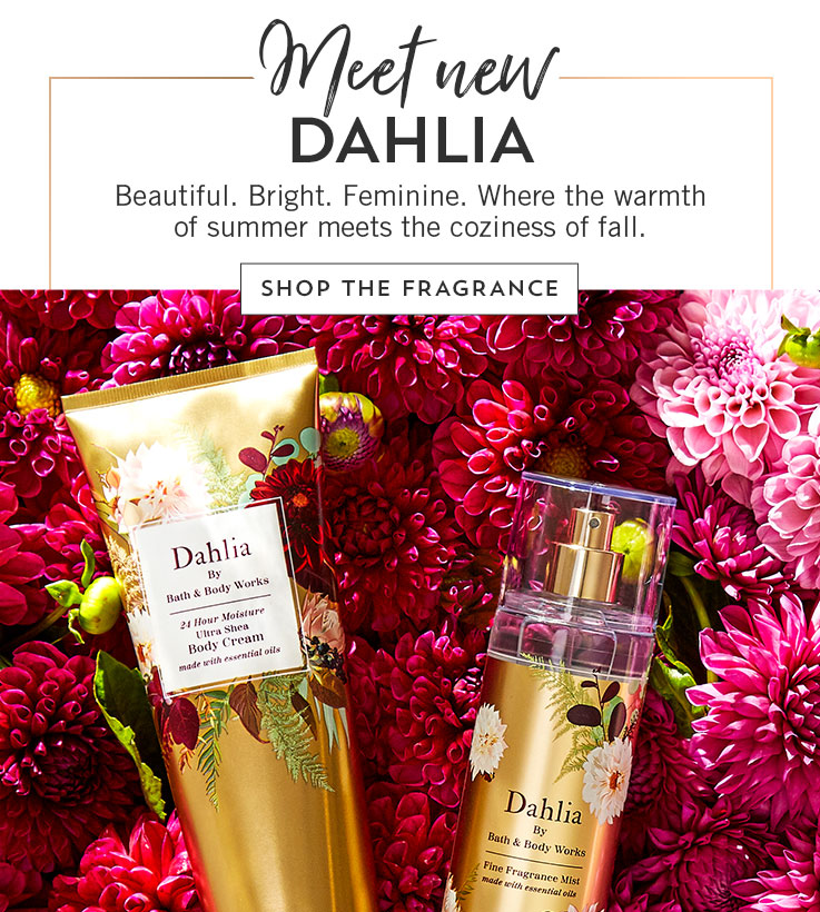 Our latest love: Beautiful. Bright. Feminine. Dahlia. Shop.