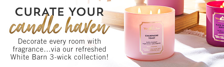 Curate your candle haven