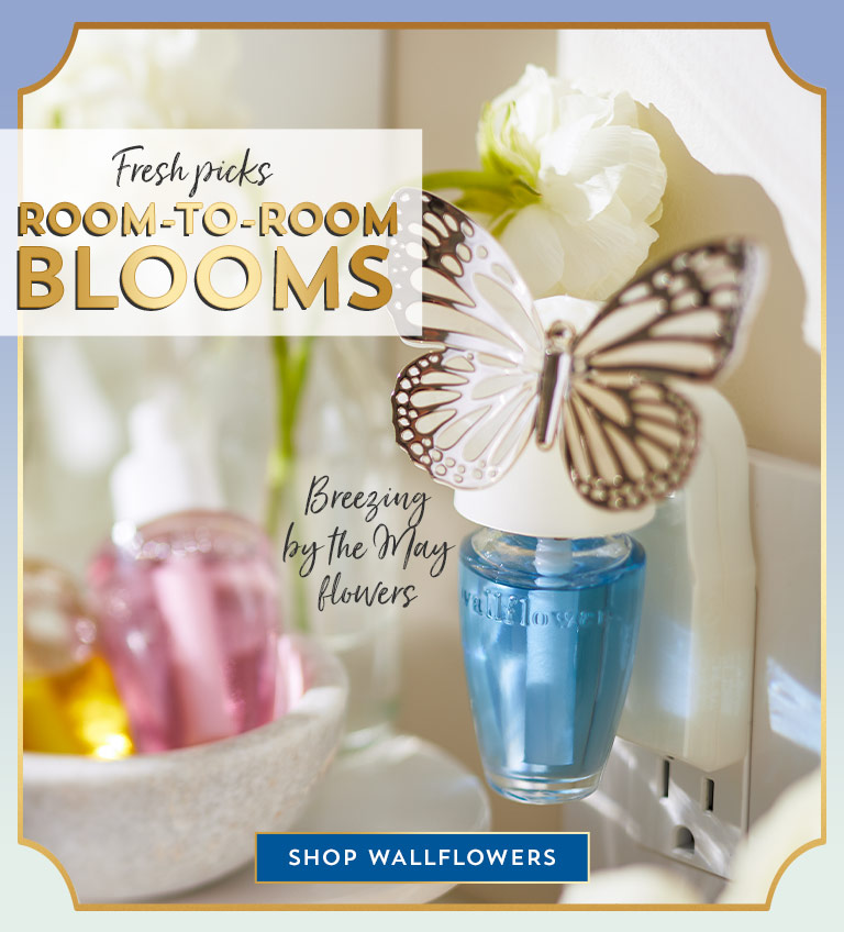 Fresh picks: room-to-room blooms. Bringing flowers to April showers. Breezing by the May flowers. Bouncing by the egg-dye supplies. Tucked by the travel memories. Shop Wallflowers.