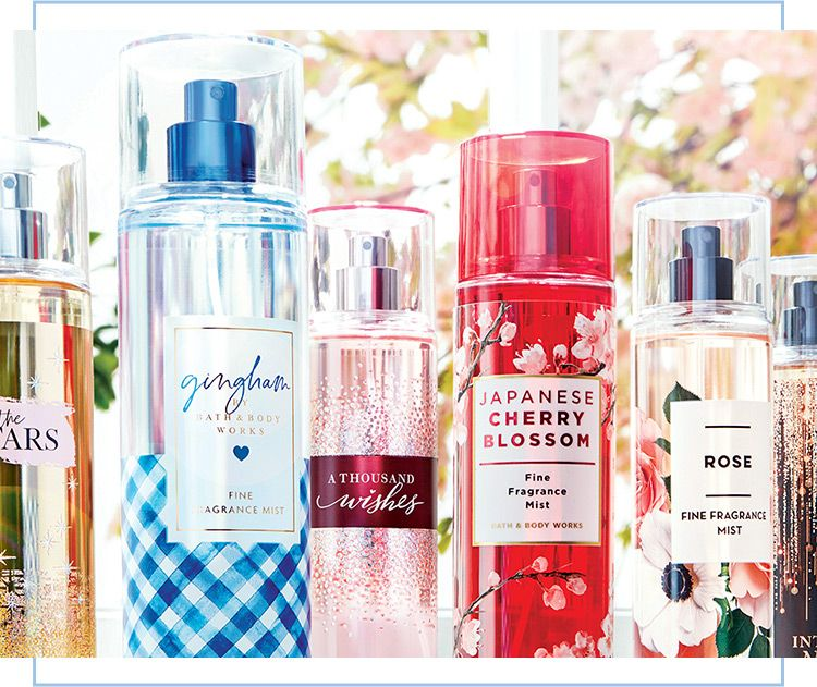 Spritz and fragrance