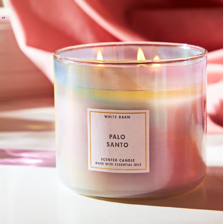 Wood scented Candle Bath and Body Works