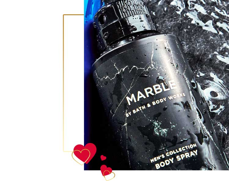 Marble fragrance collection