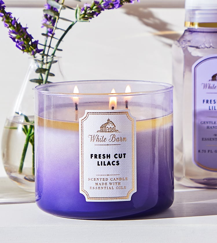 Lilac Spring Candle Bath and Body Works