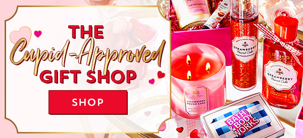 The Cupid-approved gift shop. Shop.