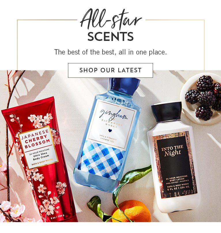 All-star scents: Nothing but the best of the best, this way. Shop the favorites.
