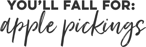 You'll fall for: Apple Pickings
