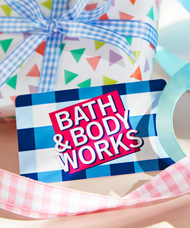 E-Gift Cards at Bath and Body Works