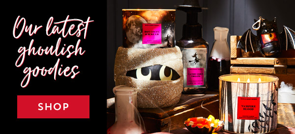 Our latest ghoulish goodies. Shop.
