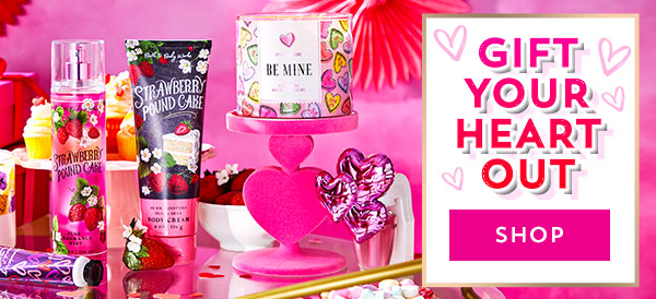 Gift your heart out. Shop.