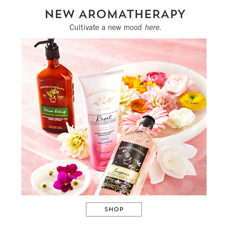 New aromatherapy. Cultivate a new mood here. Shop.