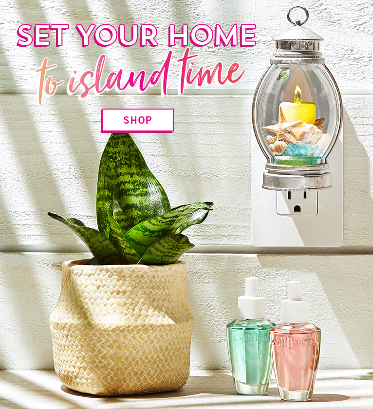 Set your home to island time. Shop.