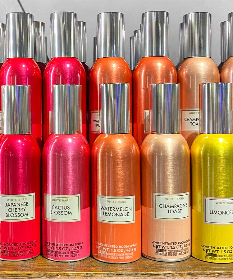 Room Sprays at Bath and Body Works