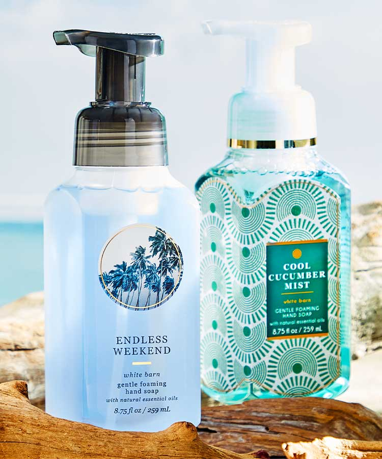 Hand Soaps at Bath and Body Works