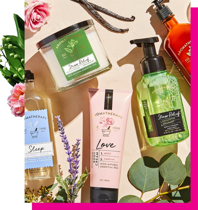 Aromatherapy gift for mom