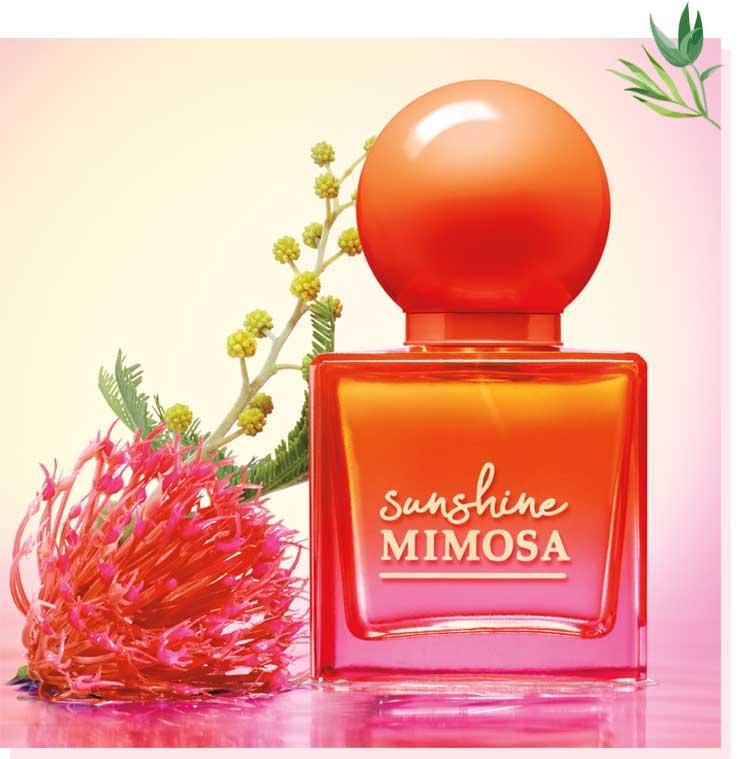 Sunshine Mimosa perfume Bath & Body Works