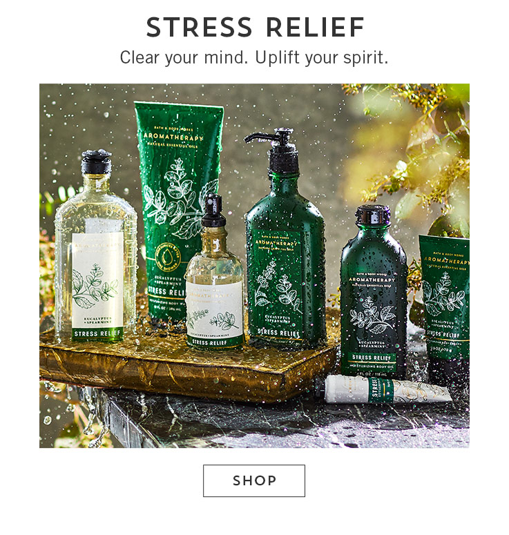 New aromatherapy. Take a wellness retreat. Shop.