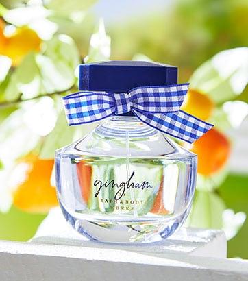 Gingham Perfume Bath and Body works