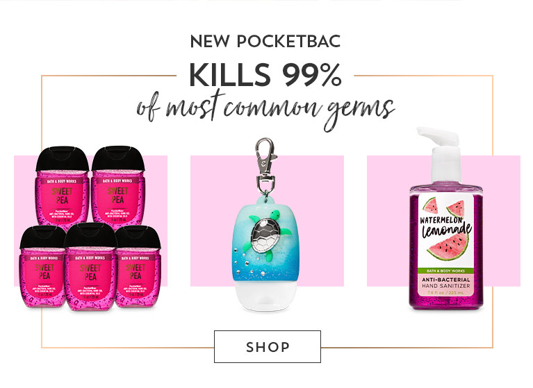 New PocketBac. Kill 99% of most common germs. Shop now.