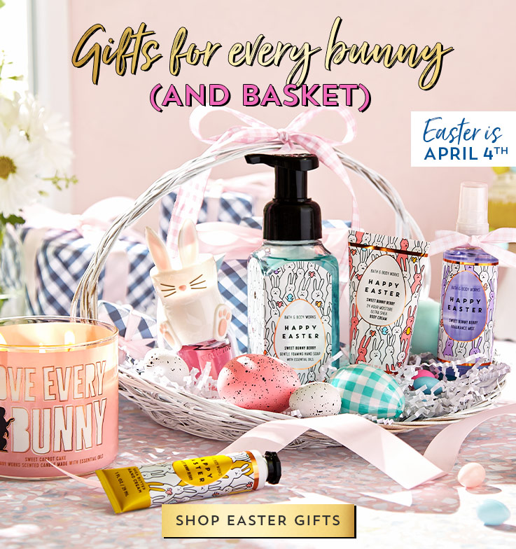Easter is April 4th. Gifts for every bunny (and basket). Shop Easter gifts.