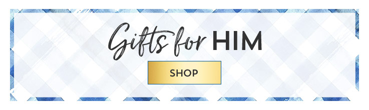 Gifts for him. Shop.