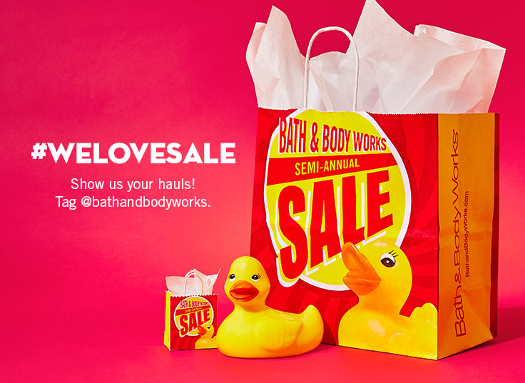 Earn your place in the haul of fame. Tag @bathandbodyworks to share the love.